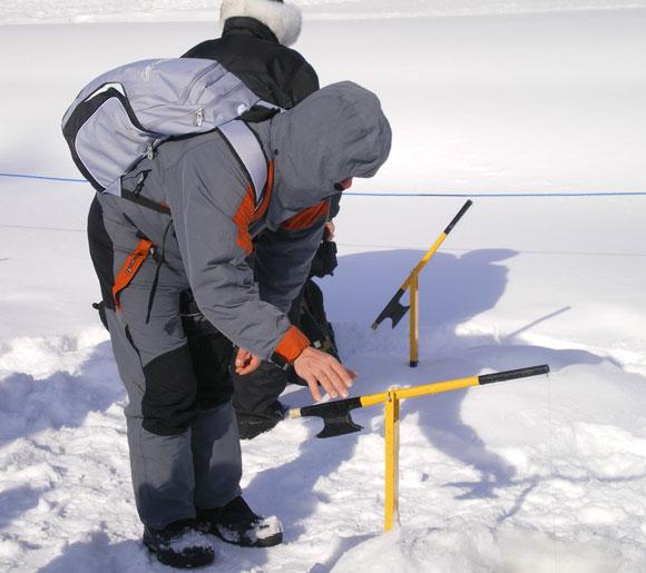 Pêche blanche dans les Laurentides
